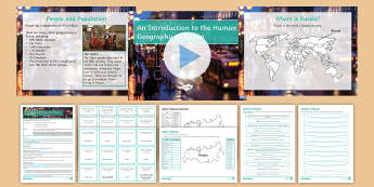 The Human Geography of Russia Lesson Pack - Human Geography, KS 3, Russia, Cities, Timeline, History, People, Population, Stand-alone lesson