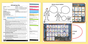 EYFS Skeleton Speech Adult Input Plan and Resource Pack
