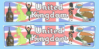 United Kingdom Display Banner - United Kingdom, UK, Olympics, Olympic Games, sports, Olympic, London, 2012, display, banner, sign, poster, activity, Olympic torch, flag, countries, medal, Olympic Rings, mascots, flame, compete, events, tennis, athlet