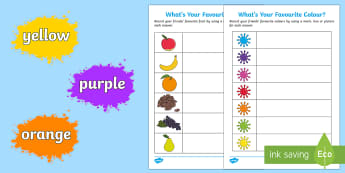 What's Your Favourite? Counting and Recording Resource Pack - Mathematics, number, counting, count, data, data handling, EYFS, colour, fruit, favourite, tally, ch