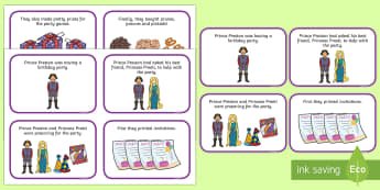 Initial pr Word Story Cards - Cluster reduction, phonology, articulation, dyspraxia, sentence level, speech sounds