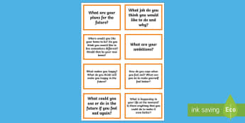 Thought Prompt Discussion Cards - behaviour, emotions, feelings, young people, families, thoughts
