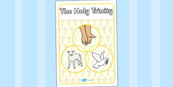 Holy Trinity Display Poster - holy trinity, display, poster