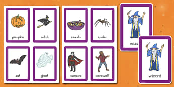Halloween Pairs Matching Game - ESL Halloween Resources