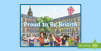 Proud to Be British Display Poster - british values, democracy, liberty, law, faith,