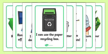 Eco and Recycling Display Posters - Eco School, Eco, Recycle, environment, recyling, eco class, recycling posters, A4, display, turn off, lights, computer, paper, electricity, saving