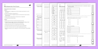 Year 6 Maths Assessment Term 3 Fractions - Key Stage 2, KS2, Maths, assessment, fractions, decimals, reasoning
