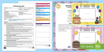 EYFS How Old Am I? Recognising Numerals Adult Input Plan and Resource Pack - Door, Mathematics, number, numbers, recognition, recognise, personal significance, EYFS, Early Years