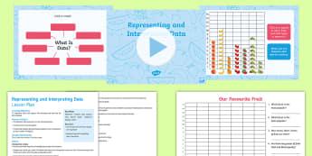 Year 1 Introducing Data Lesson Pack - Australian Curriculum Statistics and Probability, data representation and interpretation, ACMSP263,