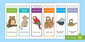 Guided Reading Strategy Editable Bookmarks -  - Guided Reading Strategy Display Posters - guided reading, reading, literacy, reading, reading displa