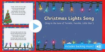 Christmas Lights Song PowerPoint