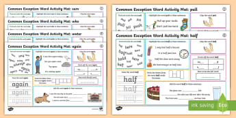 KS1 Phonics Activities and Games
