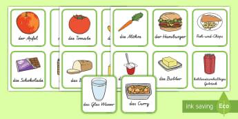 Gesundes und ungeseundes Essen Karten zum Sortieren - Gesundes und ungesundes Essen Karten zum sortieren, Gesunde und ungesunde ernährung, gesundes essen