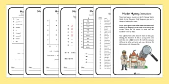 Murder Mystery Problem Solving Game - problem solving, game, Problem solving, puzzle, morse code, mystery, murder mystery