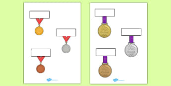 The Olympics Editable Medals Self Registration - Olympics, Olympic Games, sports, Olympic, London, 2012, Self registration, register, editable, labels, registration, child name label, printable labels, Olympic torch, flag, countries, medal, Olympic R