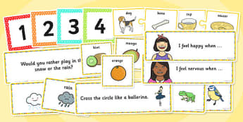 EAL Circle Time Pack - eal, circle time, pack, resources, circle