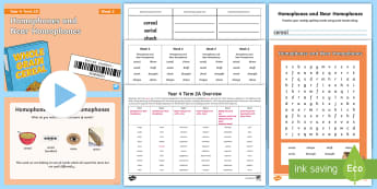 Year 4 Term 2A Week 2 Spelling Pack - Spelling Lists, Word Lists, Spring Term, List Pack, SPaG