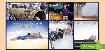 KS2 BLOODHOUND SSC Project Display Photos - fastest car, STEM, world record, land speed record, british, team, transport, machines