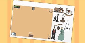 Victorian Themed Editable PowerPoint Background Template - victorian, editable powerpoint, powerpoint, background template, themed powerpoint, editable