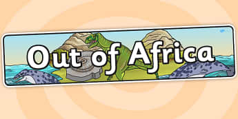 Out Of Africa Topic Display Banner - header, display, ipc
