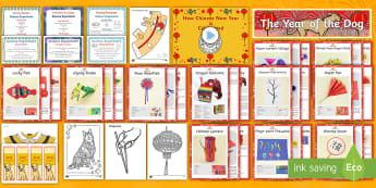 Top 10 Chinese New Year Activities Resource Pack - chinese new year, top 10, activities, pack