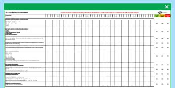 GCSE Maths Assessment Spreadsheet - KS4, Maths, GCSE, Assessment, Objectives, Progression, new curriculum, secondary, excel, data