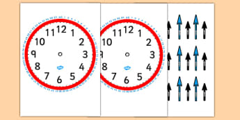 Blank Clock with Minutes and Hands-clocks, time, blank clocks, minutes, hours, seconds, time worksheet, counting, clock worksheet, numeracy