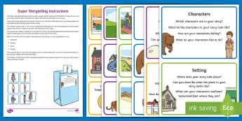 EYFS Super Storytelling Resource Pack - EYFS National Storytelling Week (Jan 30th - Feb 6th 2018), oral stories, create, invent, imagination