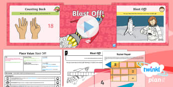 PlanIt Maths Y1 Number and Place Value Lesson Pack Count up to and Back from 20 (2)