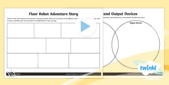 D&T: Programming Adventures UKS2 Home Learning Tasks