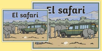 Safari sign
