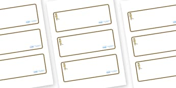 Meerkat Themed Editable Drawer-Peg-Name Labels (Blank) - Themed Classroom Label Templates, Resource Labels, Name Labels, Editable Labels, Drawer Labels, Coat Peg Labels, Peg Label, KS1 Labels, Foundation Labels, Foundation Stage Labels, Teaching Labe