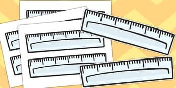 Self-Registration Rulers - self registration, self-reg, rulers