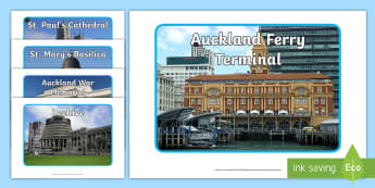 Famous New Zealand Structures Display Photos - New Zealand, my place, landmarks, Years 1-6, primary, sightseeing, structures, social studies, geogr