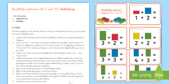 Rechnen Addieren und Subtrahieren Primary Resources - Page 2