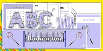 Rio 2016 Olympics Badminton Resource Pack - rio 2016, 2016 olympics, rio olympics, badminton, resource pack