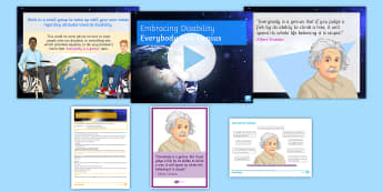 Embracing Disability: 'Everybody Is a Genius' Discussion Teaching Ideas - Disability, disability Awareness, disabled, Discrimination, raising Awareness