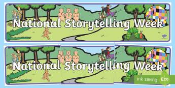 National Storytelling Week Banner