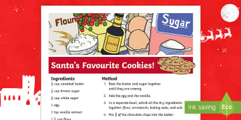 Santa's Favourite Cookies Recipe - Canada Christmas, Christmas, xmas, Santa, santa claus, cookies, chocolate chip, chocolate, chocolate