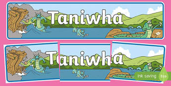 Taniwha Display Banner