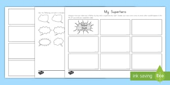 Father's Day Storyboard Template - Father's Day, comic, storyboard, writing, drawing, story planning, narrative, writer's workshop