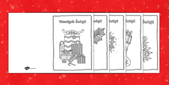 Kartki świąteczne Kolorowanka antystresowa - święta, choinka, mikołaj, gwiazdka, życzenia, pocztówki, kartki, z życzeniami, prezent, podaru