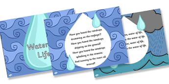 Water of Life Hymn Lyrics PowerPoint - water of life, hymn, lyrics, hymn lyrics, powerpoint, music, lyrics powerpoint, hymn powerpoint, sing along