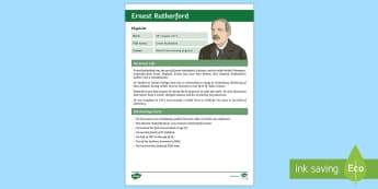 Ernest Rutherford Fact File - New Zealand Famous People, kiwis, celebrities, role models, famous people, New Zealand, science, phy