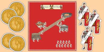 Year 5 Roman Themed Reward Display Pack - year 5, roman, reward, display