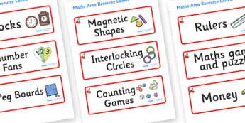 Cherry Themed Editable Maths Area Resource Labels - Themed maths resource labels, maths area resources, Label template, Resource Label, Name Labels, Editable Labels, Drawer Labels, KS1 Labels, Foundation Labels, Foundation Stage Labels, Teaching Labe