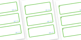 Ash Tree Themed Editable Drawer-Peg-Name Labels (Blank) - Themed Classroom Label Templates, Resource Labels, Name Labels, Editable Labels, Drawer Labels, Coat Peg Labels, Peg Label, KS1 Labels, Foundation Labels, Foundation Stage Labels, Teaching Lab