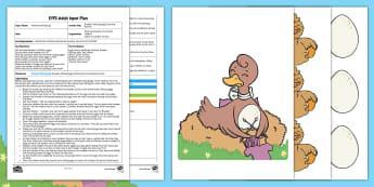 EYFS Brenda's Missing Eggs Counting Activity Adult Input Plan and Resource Pack - Twinkl Original, Brenda's Boring Egg, Nest, Ducklings, Easter, Mathematics, Number, Counting, Numb