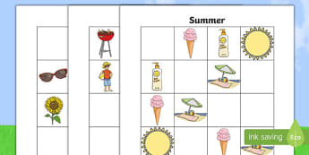 Summer Themed Sudoku - End of Year, Sudoku, end of year maths, summer, summertime, summer maths, Australia