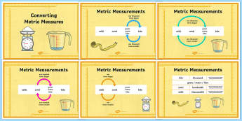 Converting Metric Measures Resource Pack